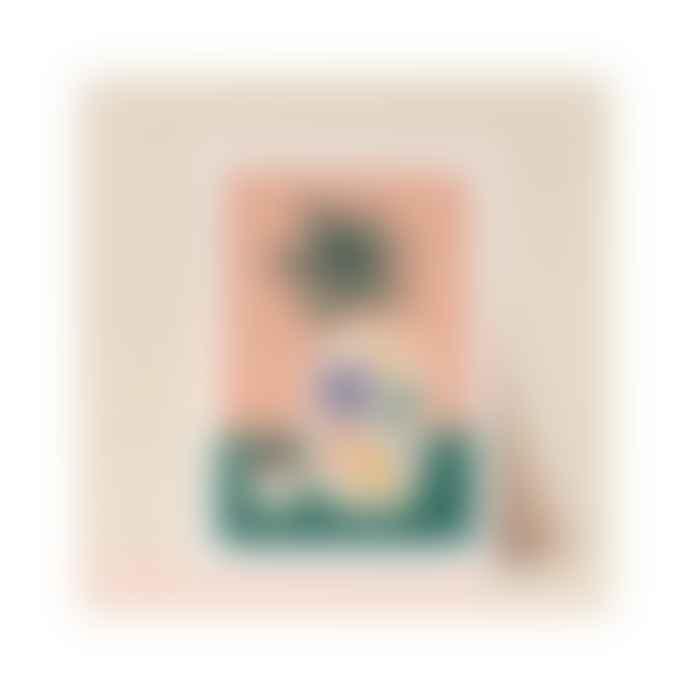 Marie Lou création Affiche Fleurs Et Cafe Format A 3