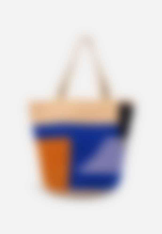 Folkdays Leicy Cotton Bag Pink Blue Orange