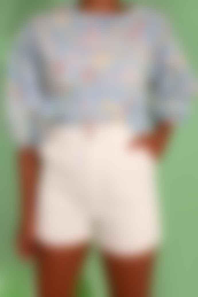 LF Markey Weston White Shorts