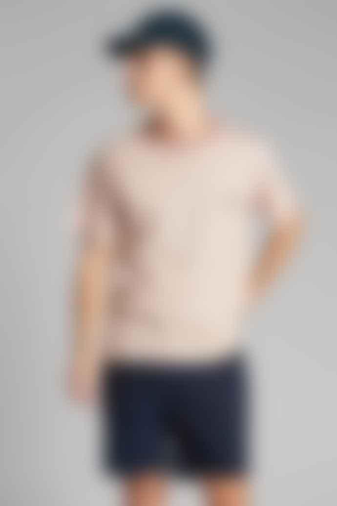 Anerkjendt Old Rose Akkikki Curv EMB T-Shirt 900133
