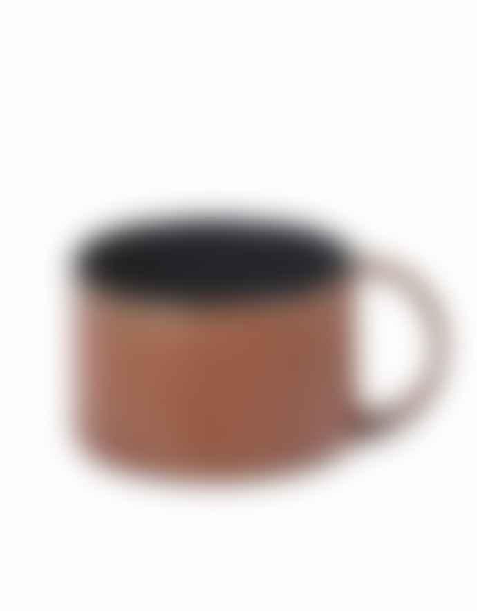 Serax Coffee Cup Rust Dark Blue