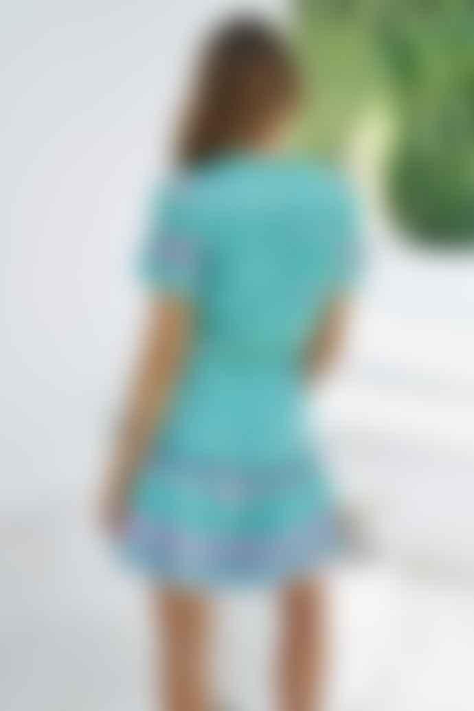 Jaase Boreal Print Remy Mini Dress