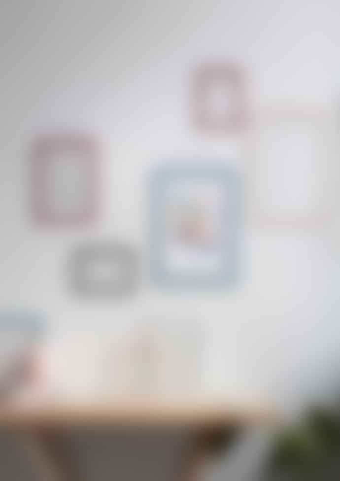 Moebe Pale Pink A5 Transparent Frame