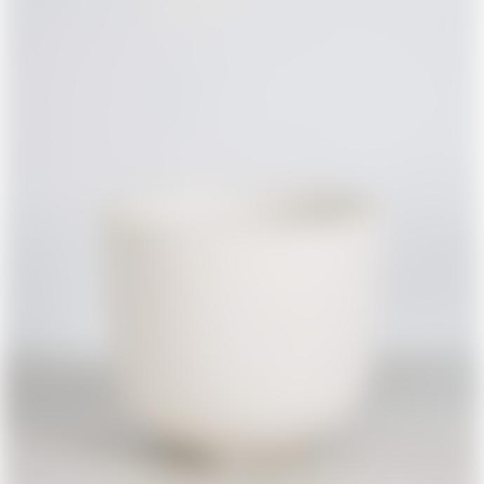 Wikholm Form Off White Tiril Plant Pot