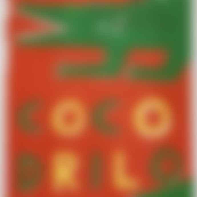 Max Machen A 3 Cocodrilo Crocodile Riso Print