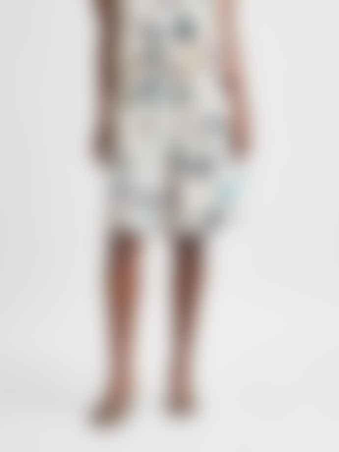 Selected Femme Garden HW Volume Shorts - Sandshell