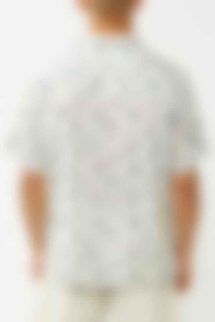 Selected Homme Egret Aness Cuban Shirt