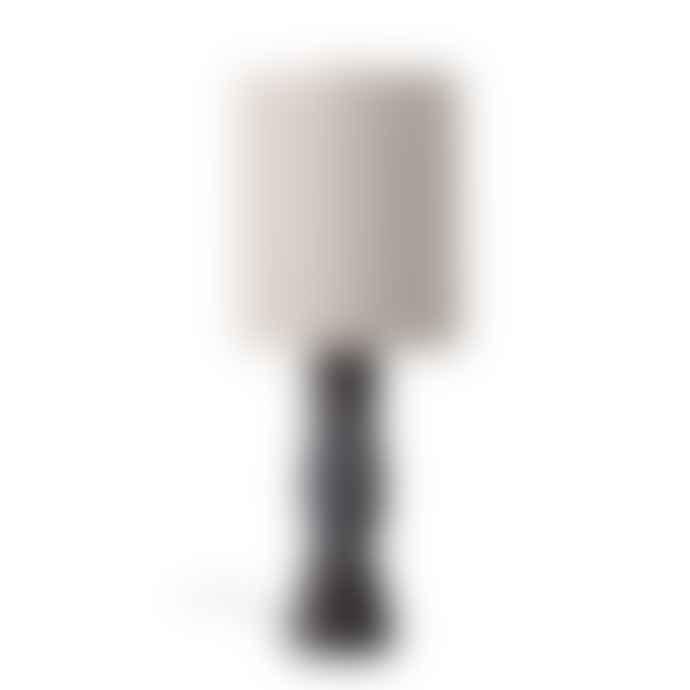 Bloomingville Graphite Terracotta Table Lamp