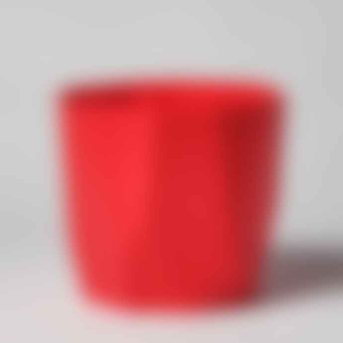 Forest Red Raspberry Geometric Pot