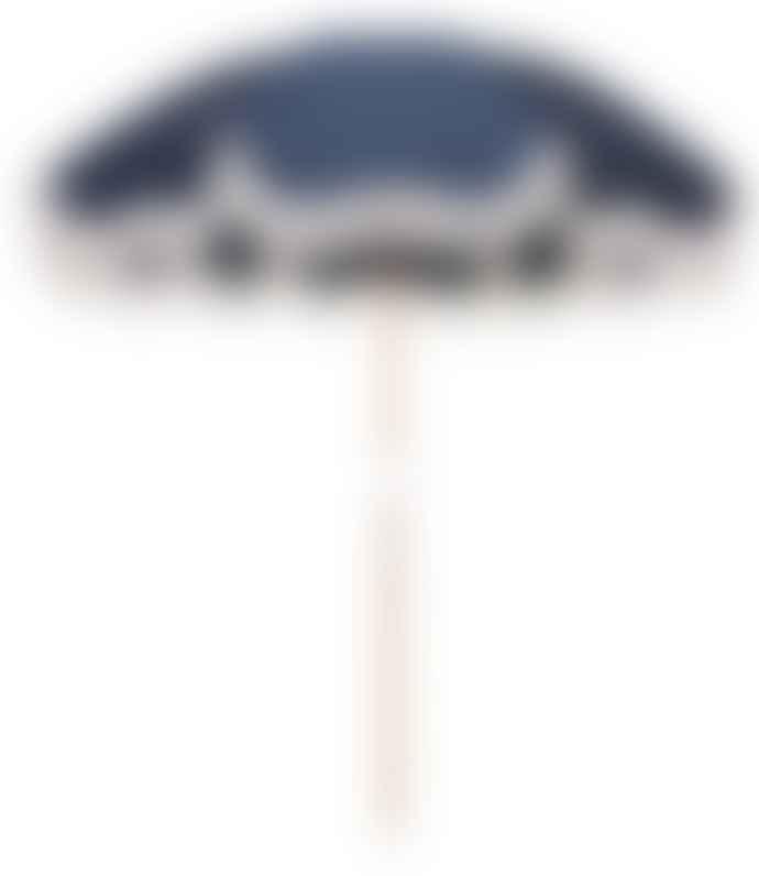 BUSINESS AND PLEASURE Holiday Beach Umbrella Atlantic Blue