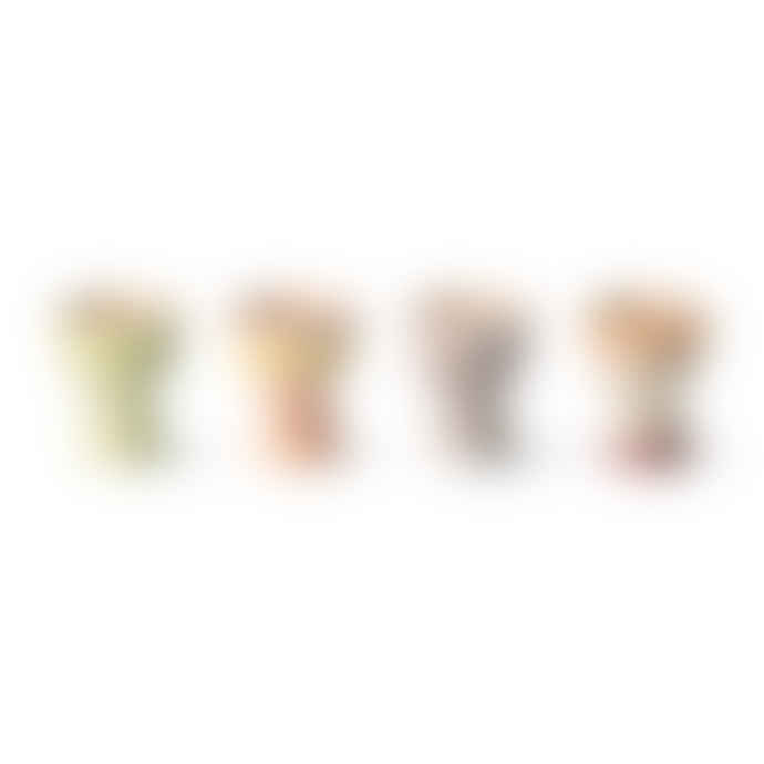 HKliving 70s Ceramics Egg Cups Set of 4