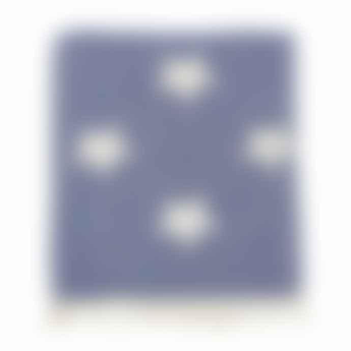 Ailera Cotton Star Throw In Denim