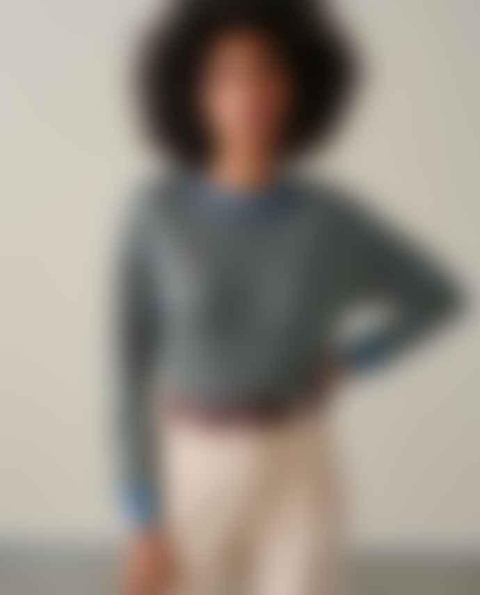 Bellerose Senia Linen Stripe T Shirt