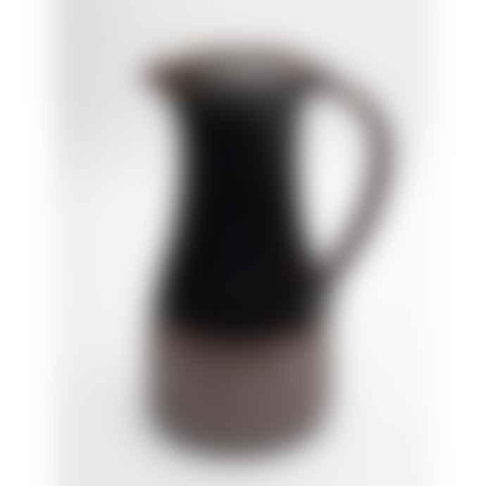 Leach Pottery Large Ceramic Jug 3 Lt Tenmoku Glaze