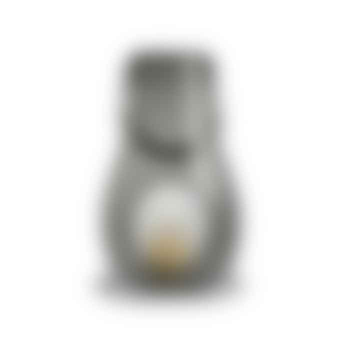 Holmegaard Laterne Mittel Hohe 24.8 Cm Smoke