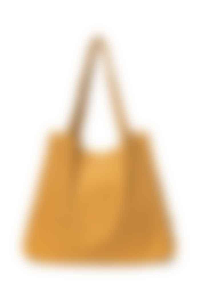 Studio Noos Mustard Rib Mom Bag