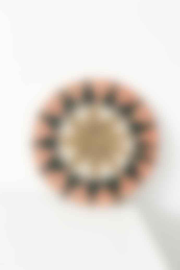Gone Rural Lavumisa Blush Decorated Potstand Medium