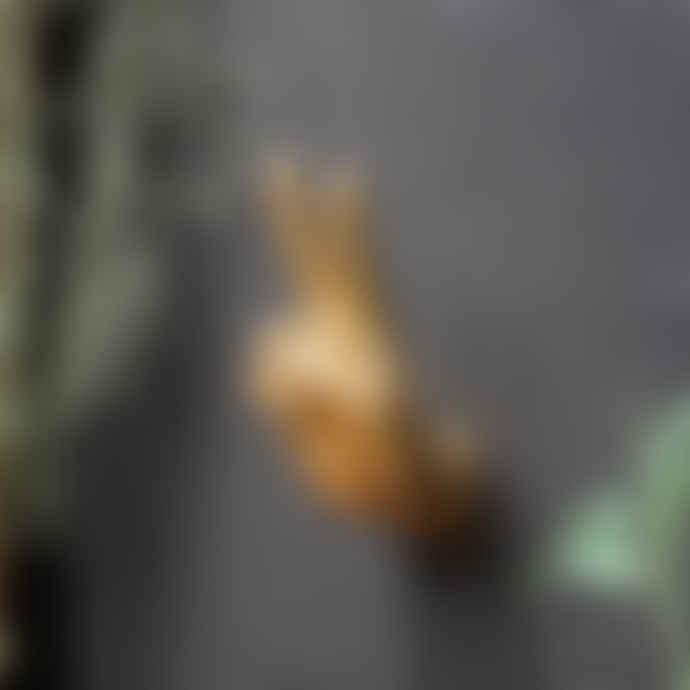Sophie MacBain Gold 'Peace' Wall Hook