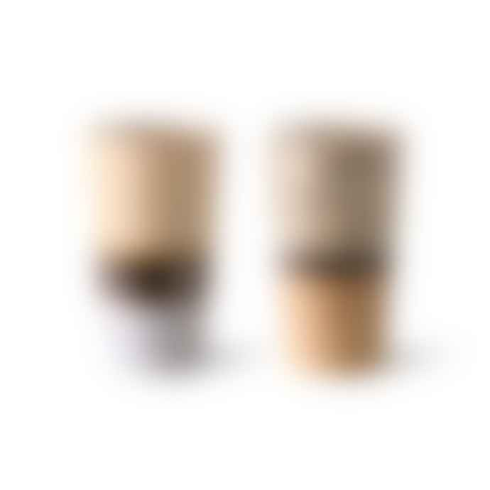HKliving 70s Ceramic Latte Mugs Set Of 2