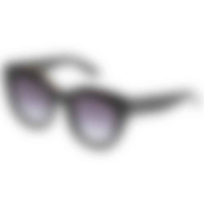 Le Spec Air Heart Black Sunglasses