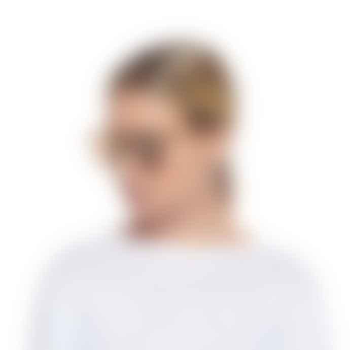 Le Spec Bandwagon Matte Stone Sunglasses