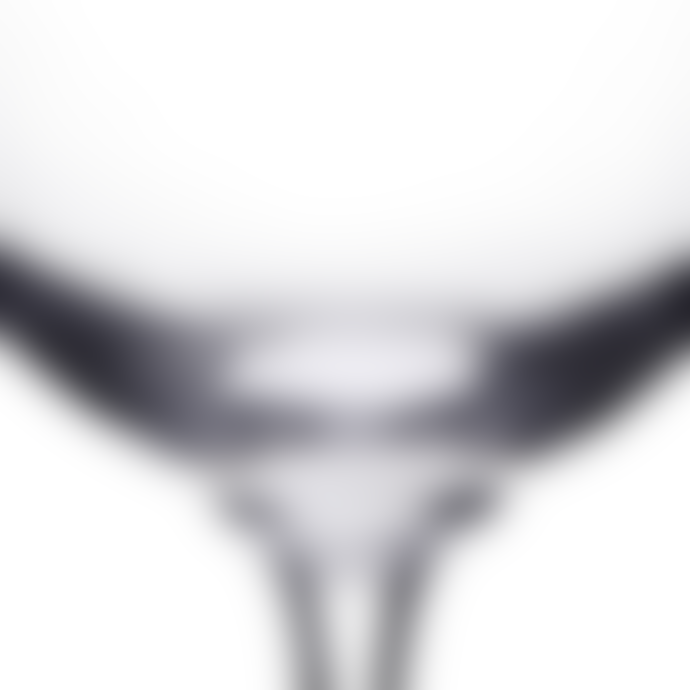 The Vintage List Pair of Oval Etched Wine Glasses