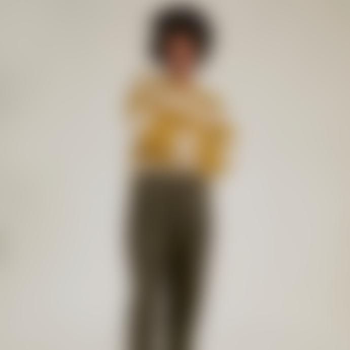 Sideline Joan Jumper Mustard Stripe
