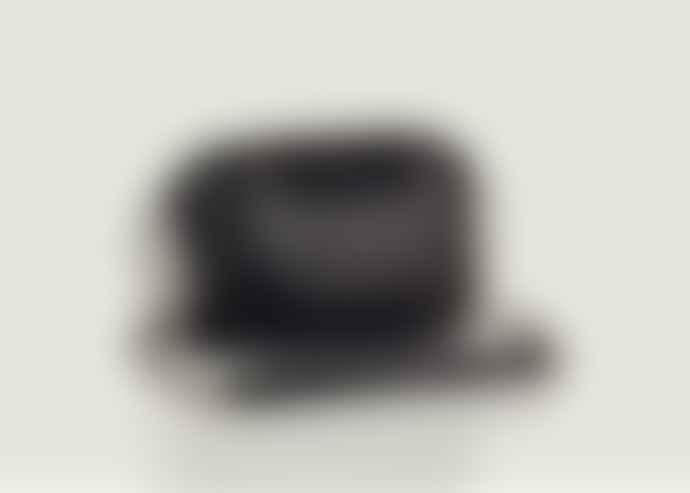 Claris Virot Black Studs Charly Python Bag