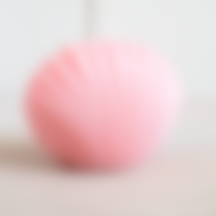 Ajouter Light Pink Shell Candle