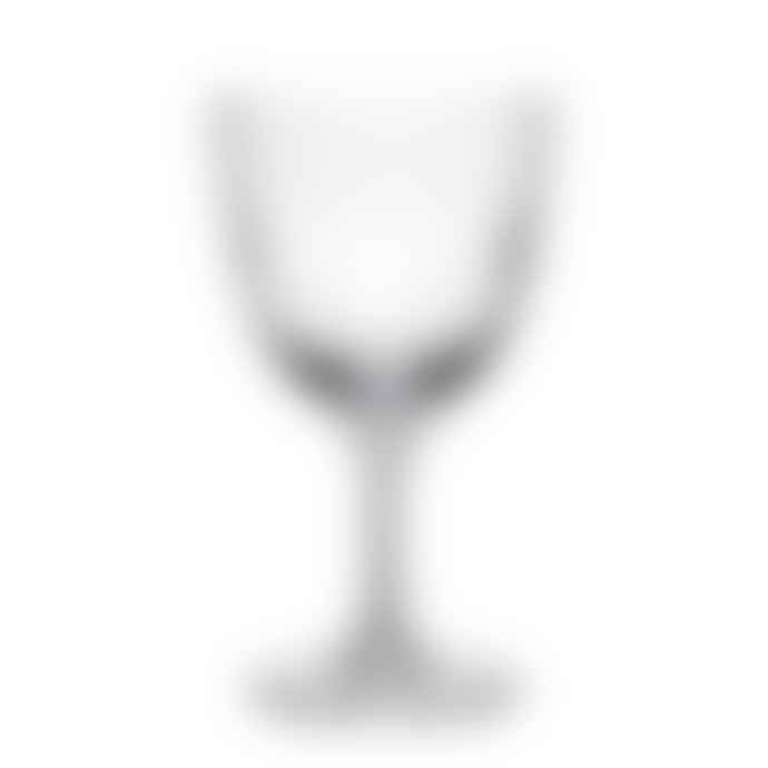 The Vintage List Pair Of Faceted Lens Wine Glasses
