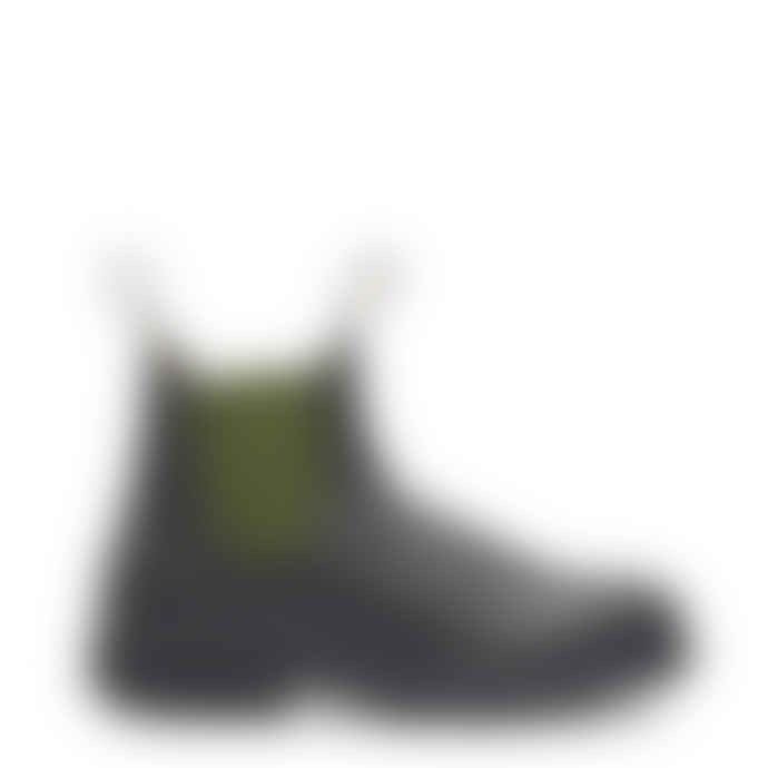 Blundstone Womens Original Chelsea Boot 519 Stout Brown Olive Uk 4