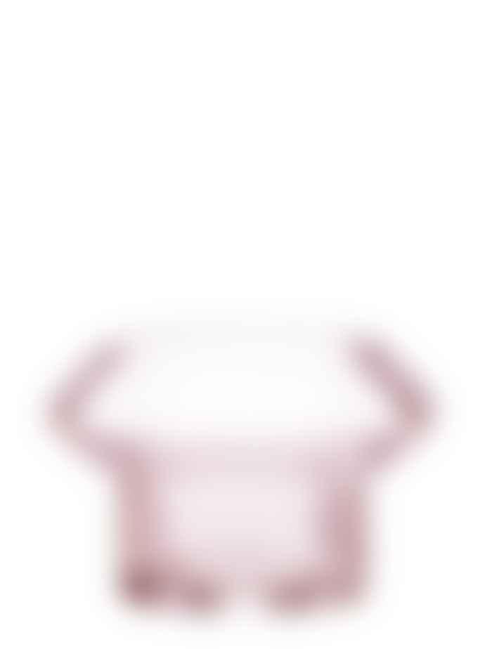 Wikholm Form Prisma Lantern Tea Light Holder Pink