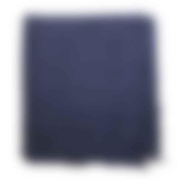 Jo Gordon Felted Lace Shawl 120x120cm Navy Blue