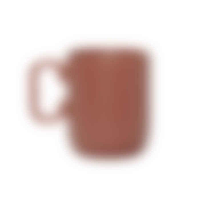Hubsch Red Ceramic Mug