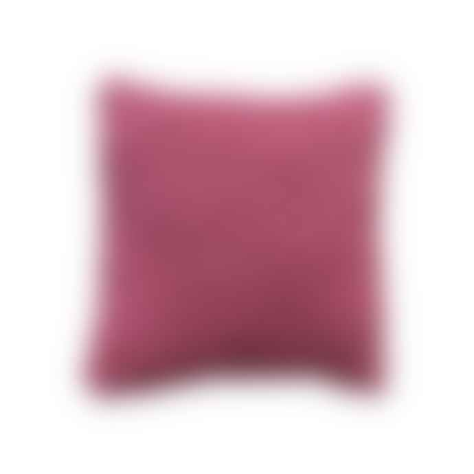 Goods of May Large Pink Red Sidney Cushion