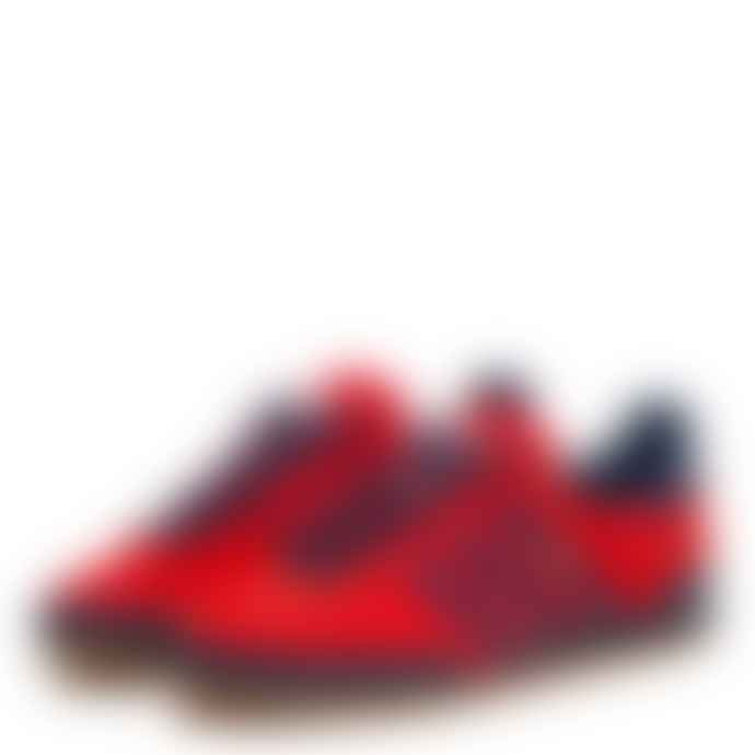 Adidas Adidas Jeans Red Collegiate Navy Trainers Sneakers
