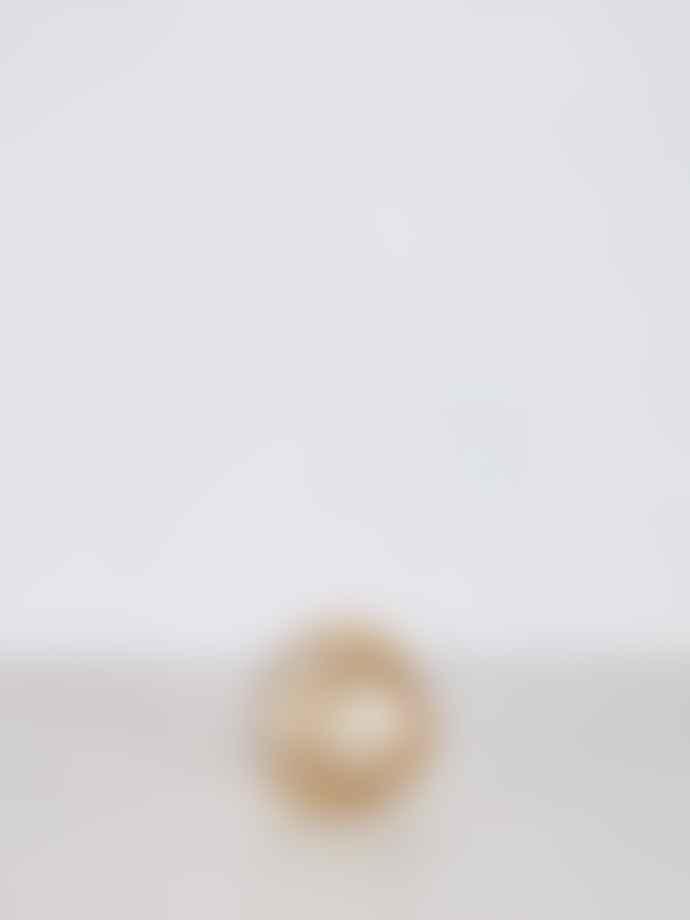 Wikholm Form Prisma Lantern Tea Light Holder Amber