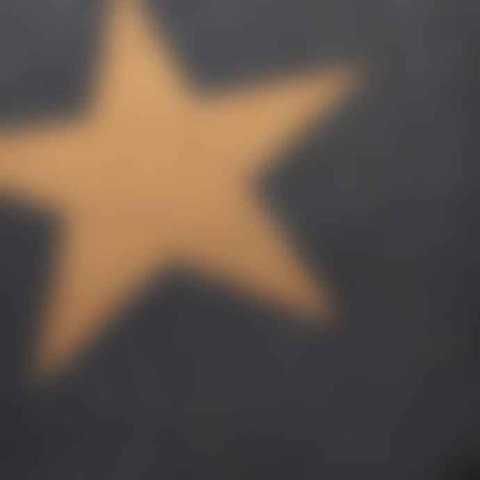 Garden Trading Charcoal Star Doormat Large