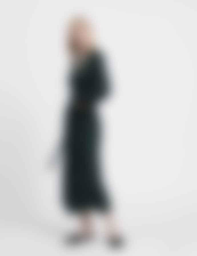 Mads Norgaard 5X5 Solid Dina Dress Scarab