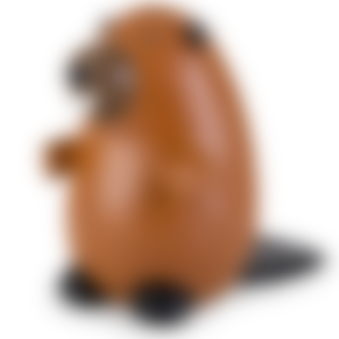 Zuny Beaver Bookend - Synthetic Leather