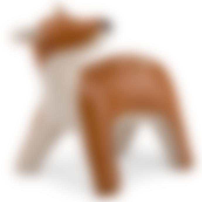 Zuny Deer Luke Bookend - Synthetic Leather