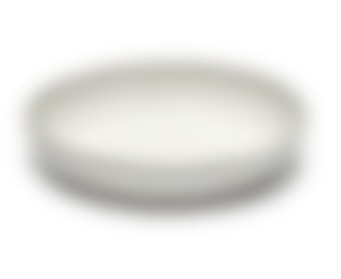 Serax White Inku High Plate