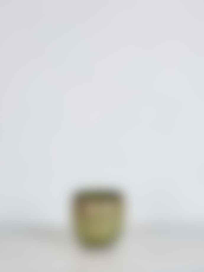Wikholm Form Small Antique Green Manju Plant Pot