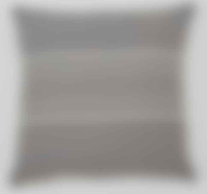 Weaver Green Antibes Cushion 45 X 45 Cm Grey Linen