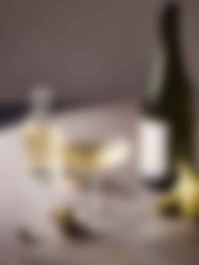 Ferm Living Set of 2 Ripple Champagne Saucer