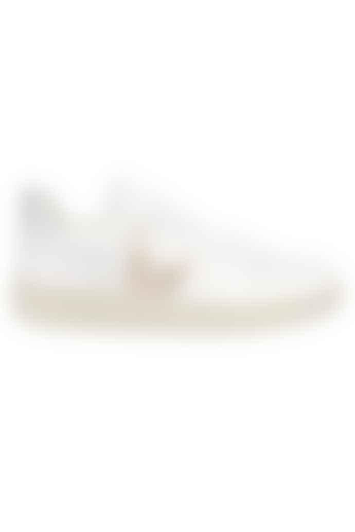 Veja V 10 Leather Extra White Platine Silver Womens