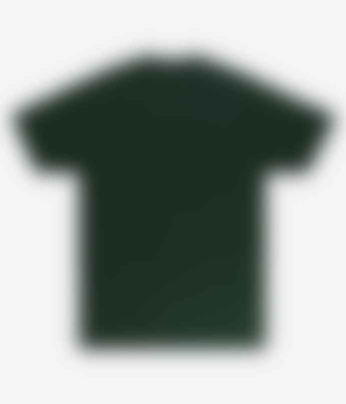 OBEY Icon Face Collage T Shirt Forest Green