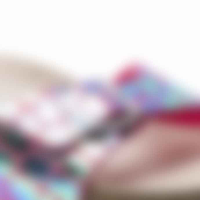 Birkenstock Madrid Mf Gator Gleam Raspberry Sandals