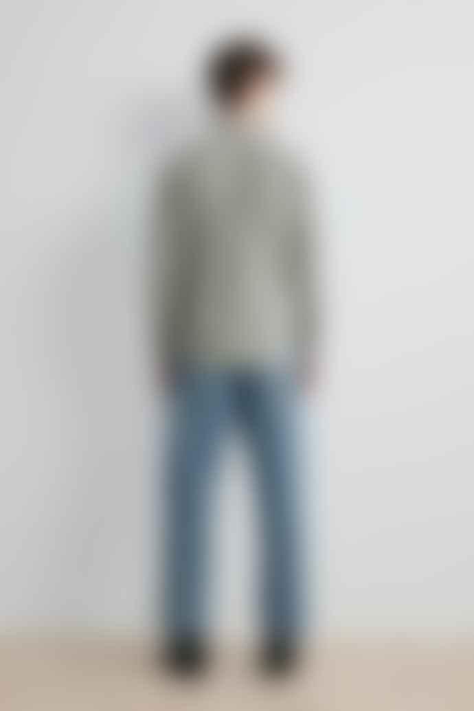NN07 Levon Shirt Grey Check
