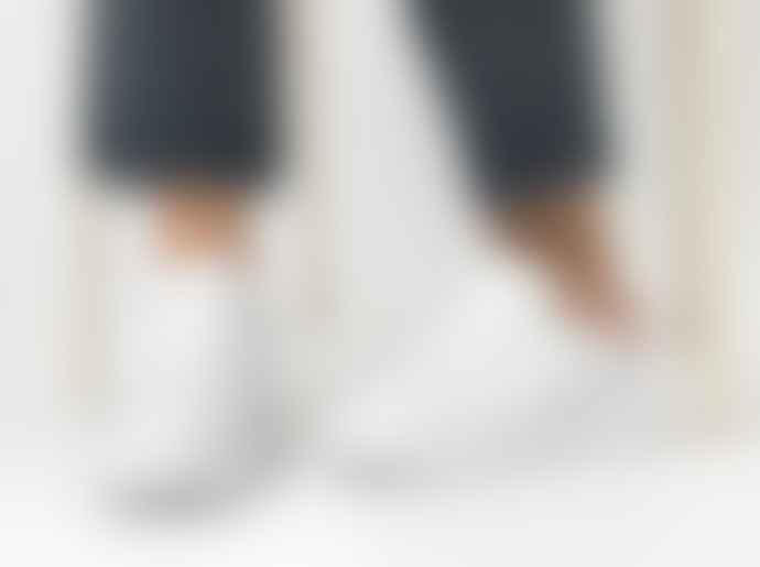 D.A.T.E Sfera Calf White Pink Trainers Sneakers